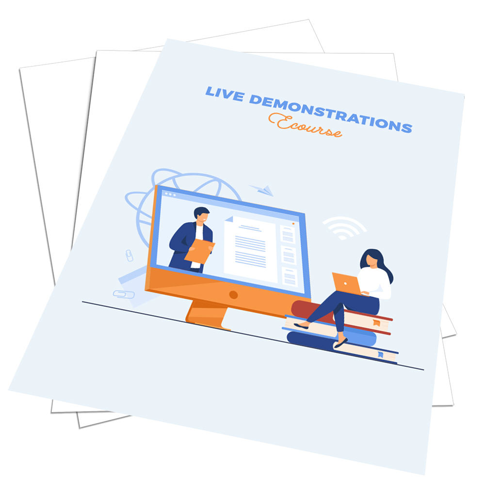 Live Demonstrations Ecourse